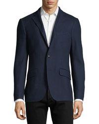 Etro - Textured Jersey Sport Coat - Lyst