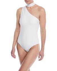 Zimmermann - Jaya Tie-neck One-piece Swimsuit - Lyst