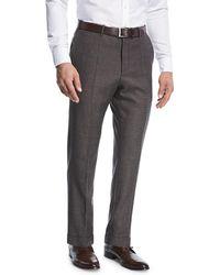 Incotex - Benson Micro-fancy Flannel Pants - Lyst