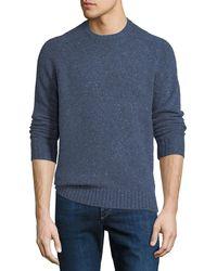 Peter Millar - Men's Crown Vintage Saddle Crewneck Sweater - Lyst
