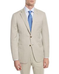Brioni - 150s Wool Herringbone Super Two-piece Suit - Lyst
