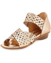 Sesto Meucci - Evie Perforated Comfort Sandal - Lyst