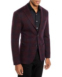 Etro - Men's Checked Jersey Jacket - Lyst