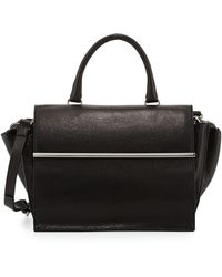 CoSTUME NATIONAL - Parigi Mini Flap Satchel Bag - Lyst