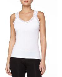 Fleur't - Bottom Drawer Lace Strap Camisole With Shelf Bra - Lyst