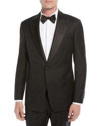 Emporio Armani - Men's Super 130s Wool Two-piece Tuxedo Suit - Lyst