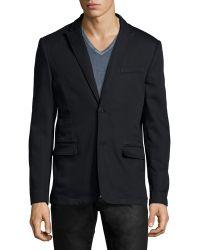John Varvatos - Two-button Soft Jacket - Lyst