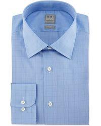 Ike Behar - Glen Plaid Woven Dress Shirt - Lyst