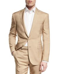 Pink Pony - Anthony Solid Two-piece Wool Suit - Lyst