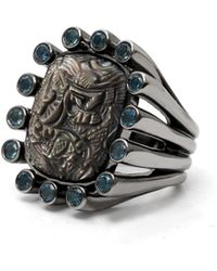 Stephen Dweck - Cushion Carved Mother-of-pearl Ring - Lyst
