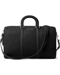 MICHAEL Michael Kors - Libby Large Perforated Gym Bag - Lyst