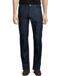 Peter Millar | Straight-leg Stretch-denim Jeans | Lyst
