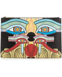 Givenchy - Medium Egyptian Four Eyes Pouch Bag - Lyst
