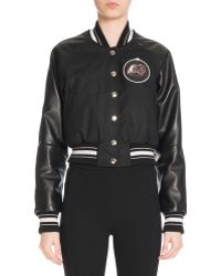 Givenchy - Monkey Brothers Patch Bomber Jacket - Lyst