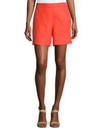 Loro Piana - Harry Antigua Linen Bermuda Shorts - Lyst