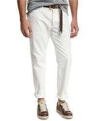 Brunello Cucinelli - Straight-leg Denim Jeans - Lyst