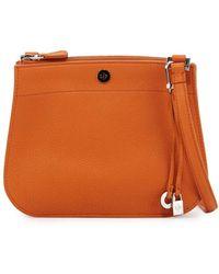 Loro Piana - Milky Way Piccola Leather Crossbody Bag - Lyst