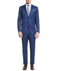 Ermenegildo Zegna - Solid Wool Two-piece Suit - Lyst
