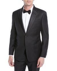Armani - Emporio Black Regular Fit Notched - Lapel Tuxedo - Lyst