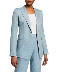 Lafayette 148 New York - Heather Linen Jacket - Lyst