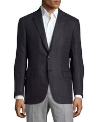 Brioni - Tonal Houndstooth Two-button Sport Coat - Lyst