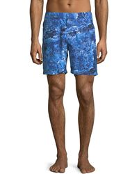 Derek Rose - Maui Modern-fit Swim Trunks - Lyst