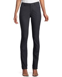 Lafayette 148 New York - Thompson Curvy Micro-pyramid Jeans - Lyst