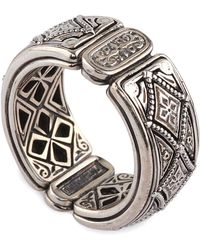 Konstantino - Men's Zeus Sterling Silver Band Ring - Lyst