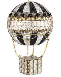 Judith Leiber - Rozier Crystal Hot Air Balloon Minaudiere - Lyst