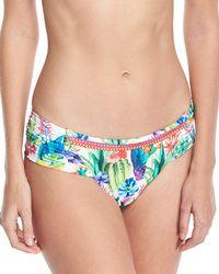 Nanette Lepore - Cactus Charmer Hipster Swim Bikini Bottoms - Lyst