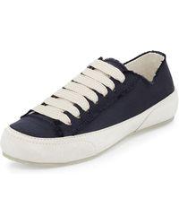 Pedro Garcia - Parson Satin Low-top Lace-up Sneaker - Lyst
