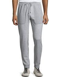 Michael Kors - Men's Textured Cotton Sweatpants - Lyst