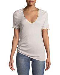 T-shirt Reja Noir Zadig & VoltaireZadig & Voltaire qfBaHy