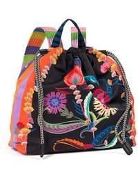 Etro - Multicolor Printed Drawstring Backpack - Lyst