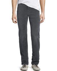 7 For All Mankind - Men's Slimmy 5-pocket Velvet Pants - Lyst