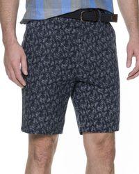 Rodd & Gunn - Dusky Forest Cotton Twill Shorts - Lyst