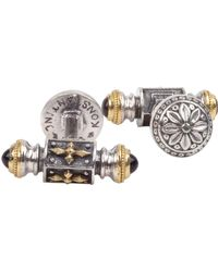Konstantino - Men's Stavros Sterling Silver & 18k Gold Cuff Links - Lyst