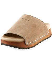 Buscemi - Topanga Platform Mule Sandal - Lyst