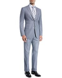 Brioni - Windowpane Wool Two-piece Suit - Lyst