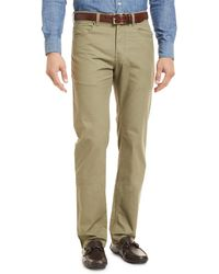 Peter Millar - Twill Pants - Lyst
