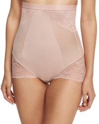 Spanx - Lace-inset High-waist Shaper - Lyst