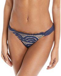 Pilyq - Nautica Lace Full Swim Bikini Bottoms - Lyst