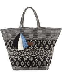 Seafolly - Carried Away Oversized Beach Bags - Lyst