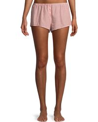 Xirena - Shyla Pinstriped Lounge Shorts - Lyst