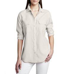 Go> By Go Silk - Safari Long-sleeve Silk Shirt - Lyst