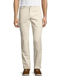 Peter Millar - Stretch Five-pocket Twill Pants - Lyst