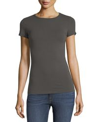 Neiman Marcus - Soft Touch Short-sleeve Tee - Lyst