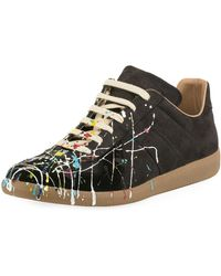 Maison Margiela - 22 Painter Leather Replica Sneaker - Lyst