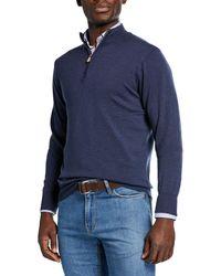 Peter Millar - Men's Crown Cool Quarter-zip Sweater - Lyst