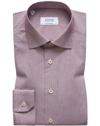 Eton of Sweden - Men's Hairline Stripe Contemporary-fit Dress Shirt - Lyst